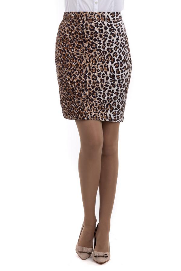 Юбка Just ValeriЮбки<br>Леопардовая юбка Just Valeri прямого кроя. Талия оформлена эластичным поясом.<br><br>Размер RU: 44<br>Пол: Женский<br>Возраст: Взрослый<br>Материал: вискоза 68%, нейлон 26%, спандекс 6%<br>Цвет: Разноцветный
