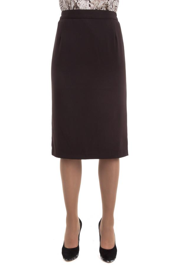 Юбка PezzoЮбки<br>Классическая юбка Pezzo коричневого цвета. Изделие дополнено кокетливым шлицем и скрытой молнией сзади.<br><br>Размер RU: 50<br>Пол: Женский<br>Возраст: Взрослый<br>Материал: полиэстер 63%, вискоза 34%, спандекс 3%<br>Цвет: Коричневый