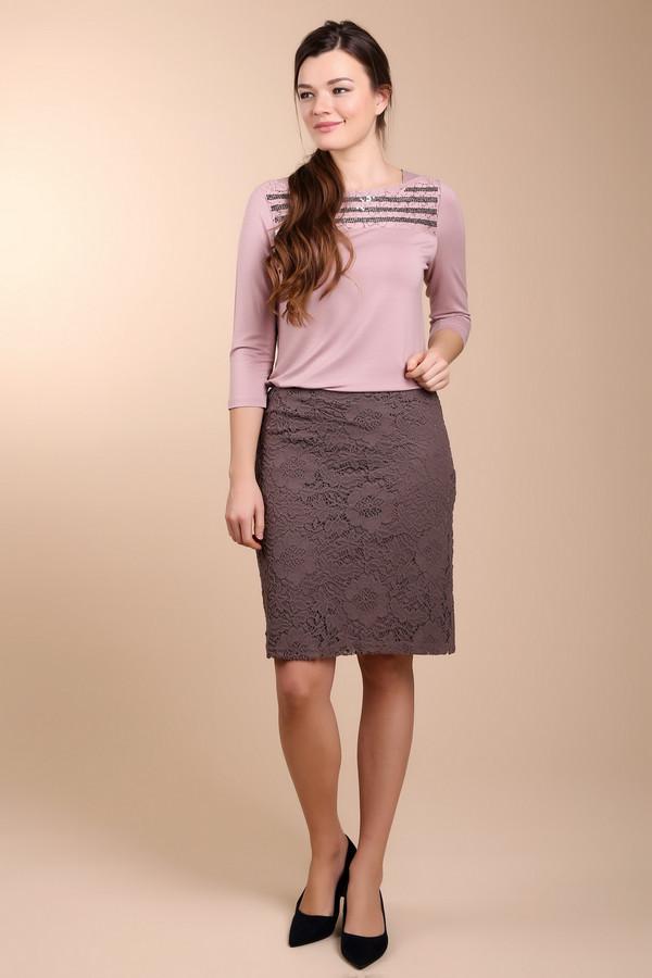 женская юбка betty barclay, коричневая