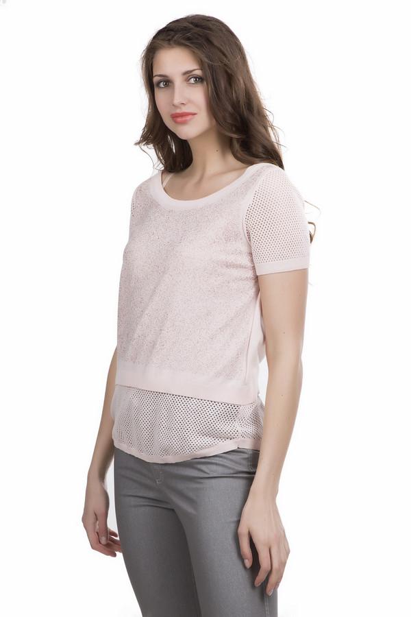 Пуловер TuzziПуловеры<br><br><br>Размер RU: 42<br>Пол: Женский<br>Возраст: Взрослый<br>Материал: хлопок 100%<br>Цвет: Розовый