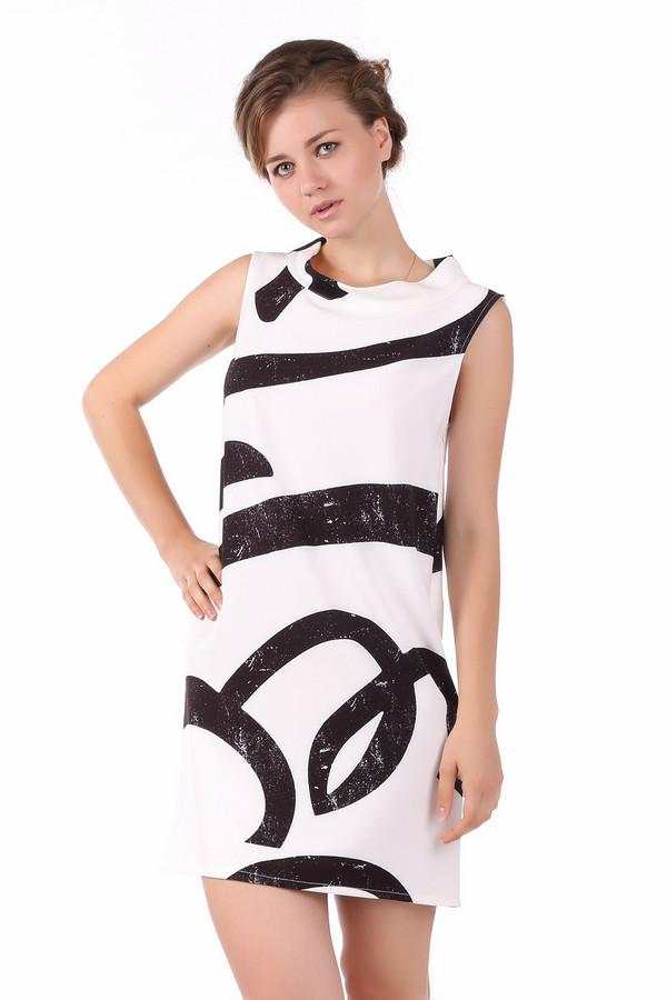 Купить Платье Sai-Ku, Италия, Чёрный, эластан 5%, полиэстер 95%