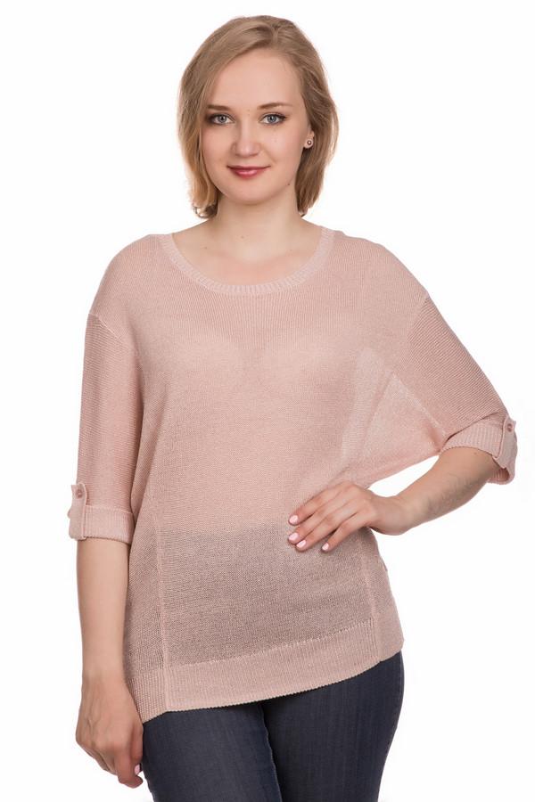 Пуловер Gerry WeberПуловеры<br><br><br>Размер RU: 44<br>Пол: Женский<br>Возраст: Взрослый<br>Материал: эластан 5%, вискоза 95%<br>Цвет: Розовый