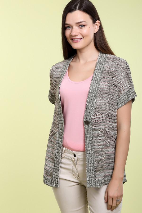 Пуловер Betty BarclayПуловеры<br>Пуловер Betty Barclay женский бежево-зелёный. Летний пуловер бежевого цвета с коротким рукавом станет для вас незаменимой и любимой вещью благодаря своей универсальности. Такая модель с глубоким V–образным вырезом, спущенным рукавом и сочетанием разноцветной вязки очень практична и удобна. Состав: полиакрил, полиэстер, полиамид.<br><br>Размер RU: 44<br>Пол: Женский<br>Возраст: Взрослый<br>Материал: полиамид 8%, полиэстер 24%, полиакрил 68%<br>Цвет: Зелёный