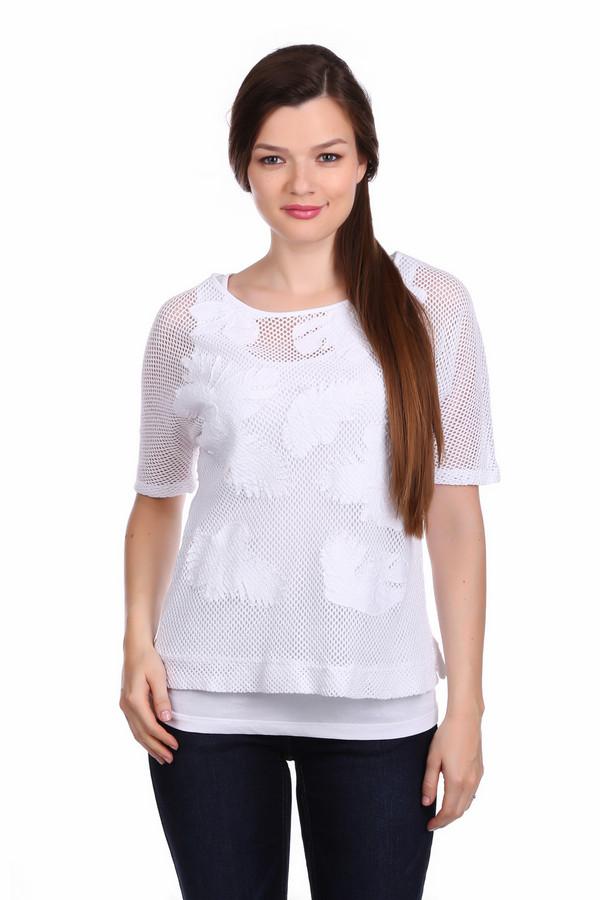 Пуловер Betty BarclayПуловеры<br>Пуловер Betty Barclay женский белый. Белоснежный пуловер из натурального материала – настоящая находка для летнего сезона. Оригинальный дизайн этой модели – сочетание двух элементов одежды – белый топ в виде подкладки, а верх - ажурный с коротким узким рукавом. Такой пуловер смотрится бесподобно. В нём вы всегда будете выглядеть нарядно и изысканно. Состав: 100 % хлопок.<br><br>Размер RU: 44<br>Пол: Женский<br>Возраст: Взрослый<br>Материал: хлопок 100%<br>Цвет: Белый