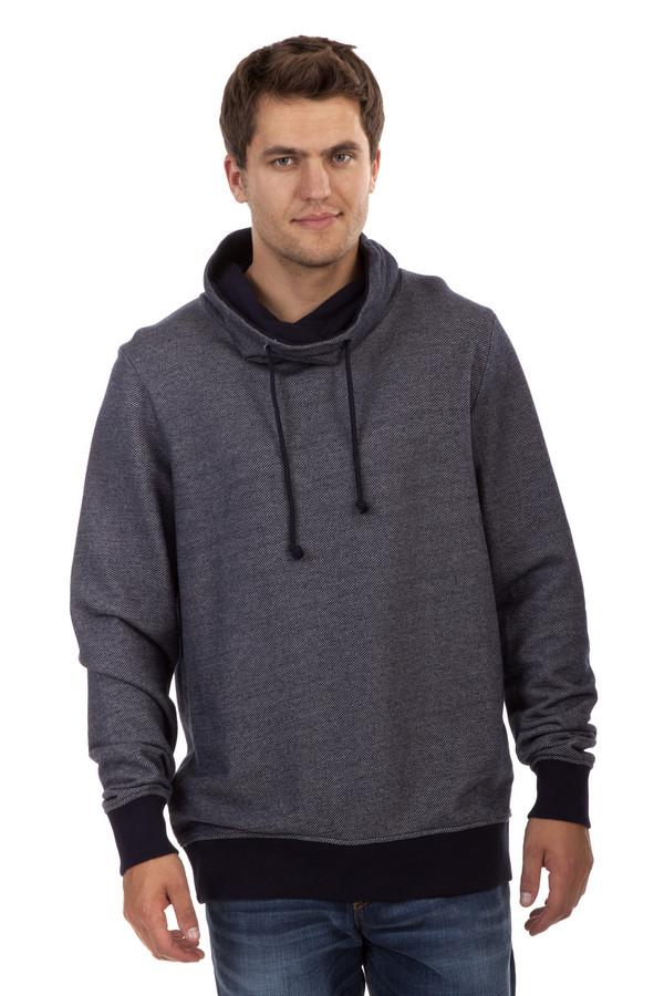 Толстовка Tom TailorТолстовки<br>Черно-серая толстовка бренда Tom Tailor прямого кроя. Изделие дополнено: воротником-хомут с регулированным шнурком и длинными рукавами. Манжеты и нижний кант оформлены широкой эластичной черной резинкой.<br><br>Размер RU: 44-46<br>Пол: Мужской<br>Возраст: Взрослый<br>Материал: хлопок 100%<br>Цвет: Разноцветный