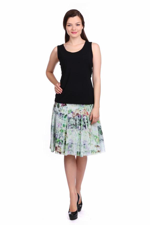 Юбка ApanageЮбки<br>Юбка Apanage разноцветная. Белый, зелёный, сиреневый, фиолетовый цвета данного изделия радуют глаз и дарят вам ощущение праздника. Абстрактный рисунок этой вещи – отличный выбор, если вы цените неброский шарм в одежде. Выглядеть женственно и чарующе в этой юбке просто как никогда. Ее расклешенный силуэт и нетривиальный крой – то, что нужно, чтобы покорять и восхищать представителей сильного пола. Состав: 100%-ный полиэстер.<br><br>Размер RU: 42<br>Пол: Женский<br>Возраст: Взрослый<br>Материал: полиэстер 100%<br>Цвет: Разноцветный