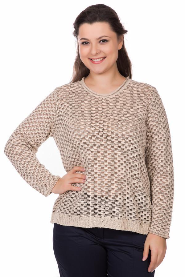 Пуловер LuciaПуловеры<br><br><br>Размер RU: 50<br>Пол: Женский<br>Возраст: Взрослый<br>Материал: хлопок 12%, полиэстер 2%, полиакрил 81%, полиамид 5%<br>Цвет: Бежевый