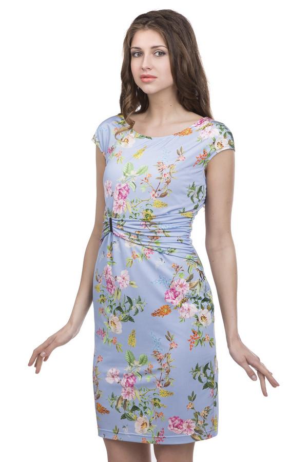 Платье ApanageПлатья<br><br><br>Размер RU: 44<br>Пол: Женский<br>Возраст: Взрослый<br>Материал: эластан 8%, полиэстер 92%<br>Цвет: Разноцветный