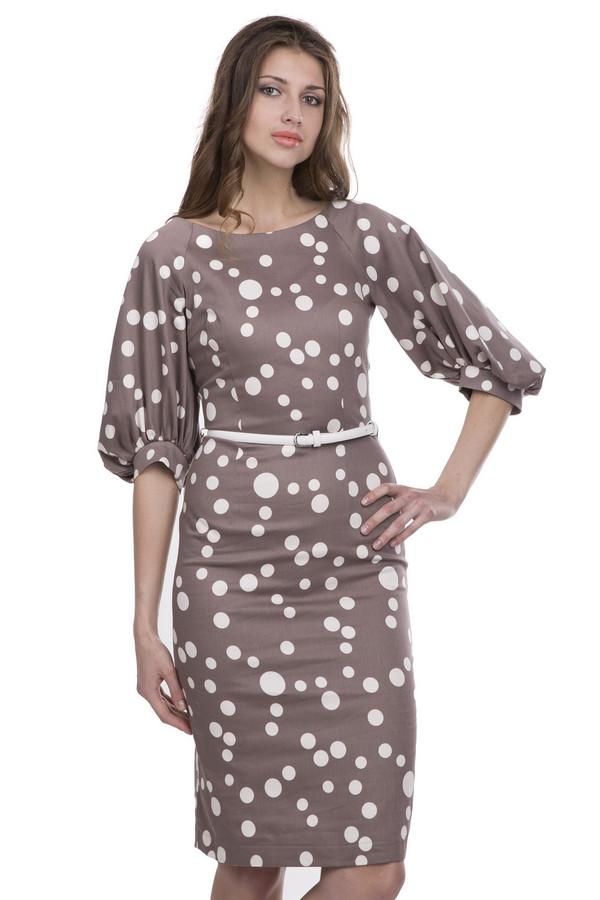 Платье ArgentПлатья<br><br><br>Размер RU: 42<br>Пол: Женский<br>Возраст: Взрослый<br>Материал: хлопок 95%, лайкра 5%<br>Цвет: Белый