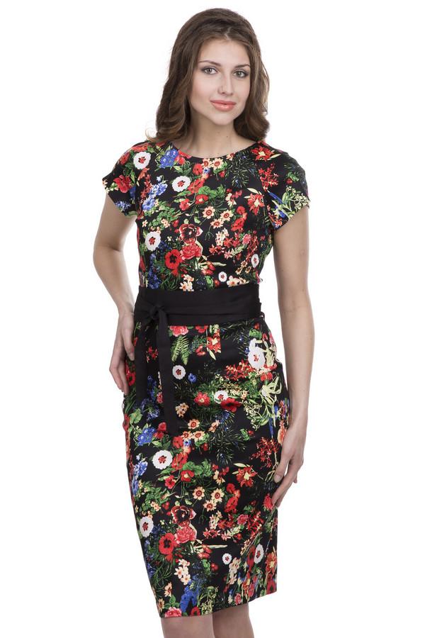 Платье ArgentПлатья<br><br><br>Размер RU: 44<br>Пол: Женский<br>Возраст: Взрослый<br>Материал: хлопок 95%, лайкра 5%<br>Цвет: Разноцветный