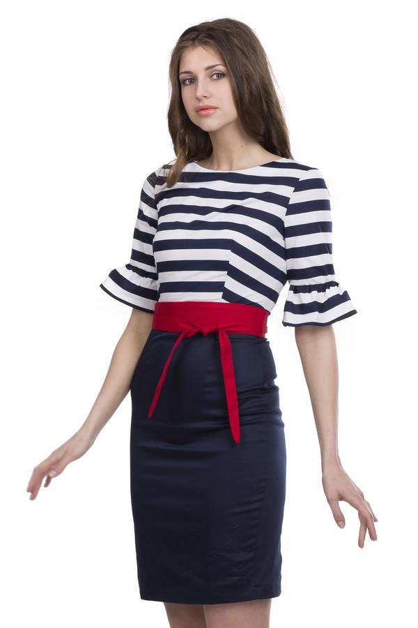 Платье ArgentПлатья<br><br><br>Размер RU: 42<br>Пол: Женский<br>Возраст: Взрослый<br>Материал: хлопок 95%, лайкра 5%<br>Цвет: Разноцветный