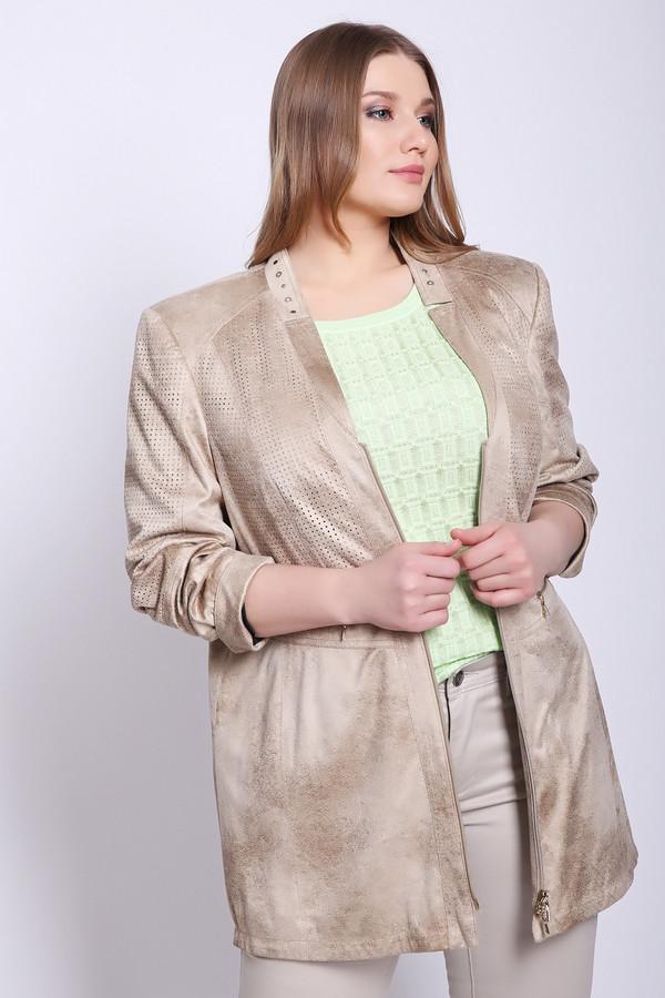 женское пальто gelco, бежевое