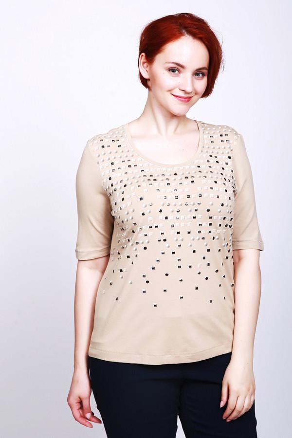 женская футболка с коротким рукавом gelco, разноцветная