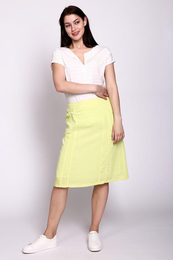 женская юбка gelco, желтая
