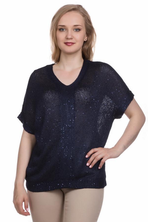 Пуловер GelcoПуловеры<br><br><br>Размер RU: 44<br>Пол: Женский<br>Возраст: Взрослый<br>Материал: вискоза 30%, полиэстер 70%<br>Цвет: Синий