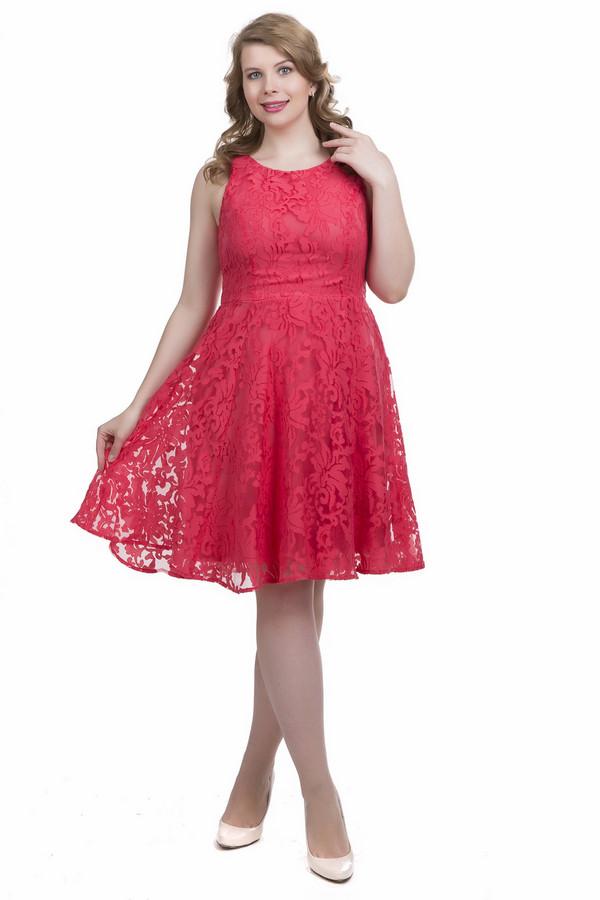 Платье s.Oliver PREMIUMПлатья<br><br><br>Размер RU: 48<br>Пол: Женский<br>Возраст: Взрослый<br>Материал: полиэстер 16%, вискоза 84%<br>Цвет: Красный