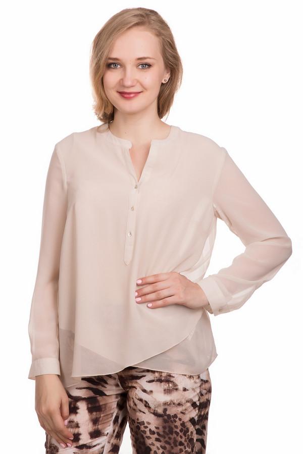 Блузa ApanageБлузы<br>Блузa Apanage женская бежевая. Нарядная блуза нежного бежевого цвета не оставит вас равнодушной. Необычный крой полочки, изящная застёжка и красивый цвет – вот достоинства этой модели. В такой блузе вы будете выглядеть очень изысканно и стильно. Её можно комбинировать с различными брюками и юбками, а обувь на высоком каблуке ещё больше подчеркнёт вашу индивидуальность. Состав: 100% полиэстер.<br><br>Размер RU: 44<br>Пол: Женский<br>Возраст: Взрослый<br>Материал: полиэстер 100%<br>Цвет: Бежевый