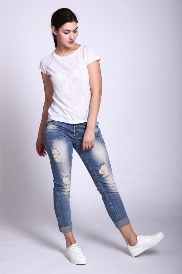 Модные джинсы GOOCECМодные джинсы<br><br><br>Размер RU: 46<br>Пол: Женский<br>Возраст: Взрослый<br>Материал: эластан 3%, хлопок 97%<br>Цвет: Синий