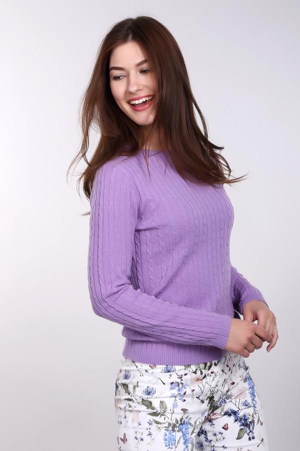 Пуловер Just ValeriПуловеры<br>Пуловер Just Valeri женский фиолетовый. Прекрасный пуловер нежного фиолетового цвета сразу привлечёт ваше внимание. Модель с круглым вырезом и красивой вязкой «косичка» выполнена из тонкой шерстяной пряжи, поэтому в ней вы будете чувствовать себя очень комфортно. Такой пуловер хорошо смотрится с тёмными узкими брючками и обувью на высоком каблуке. Состав: 100% кашемир.<br><br>Размер RU: 42<br>Пол: Женский<br>Возраст: Взрослый<br>Материал: кашемир 100%<br>Цвет: Фиолетовый