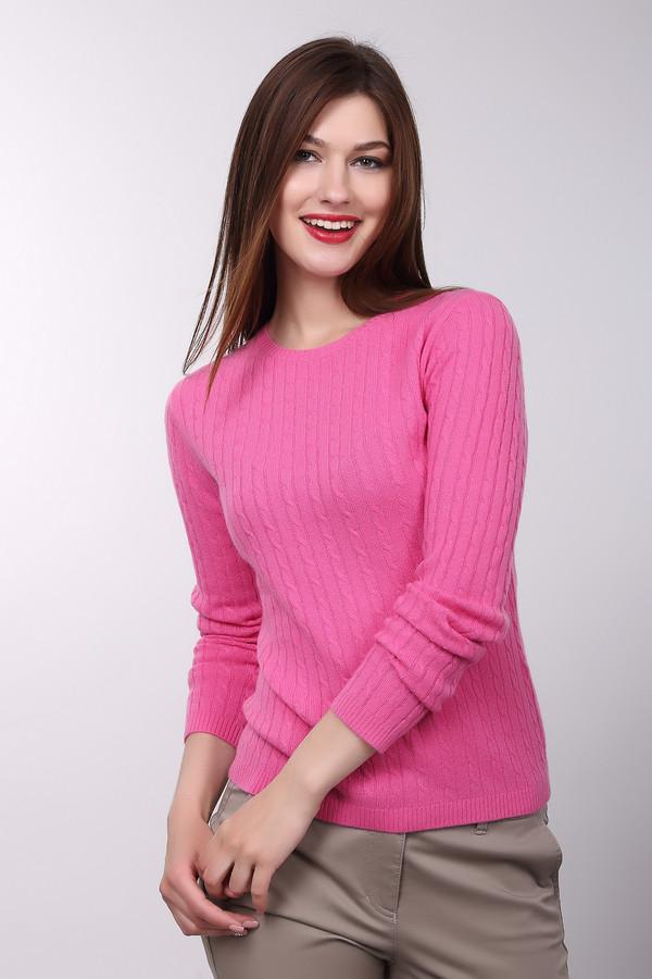 Пуловер Just ValeriПуловеры<br>Пуловер Just Valeri женский цвета фуксии. Прекрасный пуловер яркого розового цвета сразу привлечёт ваше внимание. Модель с круглым вырезом и красивой вязкой «косичка» выполнена из тонкой шерстяной пряжи, поэтому в ней вы будете чувствовать себя очень комфортно. Такой пуловер хорошо смотрится с тёмными узкими брючками и обувью на высоком каблуке. Состав: 100% кашемир.<br><br>Размер RU: 48<br>Пол: Женский<br>Возраст: Взрослый<br>Материал: кашемир 100%<br>Цвет: Розовый