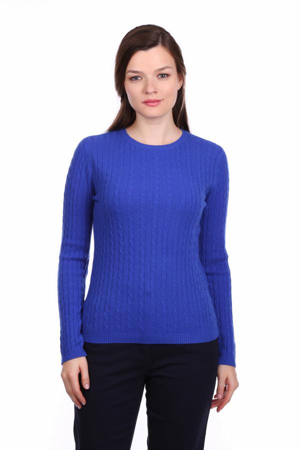 Пуловер Just ValeriПуловеры<br>Пуловер Just Valeri женский насыщенного синего оттенка. Прекрасный пуловер яркого цвета сразу привлечёт ваше внимание. Модель с круглым вырезом и красивой вязкой «косичка» выполнена из тонкой шерстяной пряжи, поэтому в ней вы будете чувствовать себя очень комфортно. Такой пуловер хорошо смотрится с тёмными узкими брючками и обувью на высоком каблуке. Состав: 100% кашемир.<br><br>Размер RU: 46<br>Пол: Женский<br>Возраст: Взрослый<br>Материал: кашемир 100%<br>Цвет: Синий