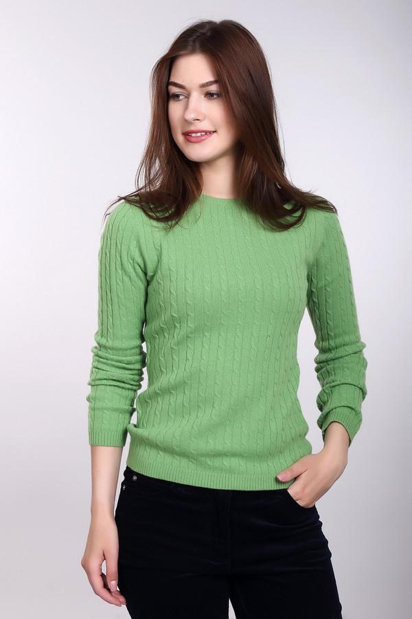 Пуловер Just ValeriПуловеры<br>Пуловер Just Valeri женский яркого зеленого оттенка. Прекрасный пуловер насыщенного цвета сразу привлечёт ваше внимание. Модель с круглым вырезом и красивой вязкой «косичка» выполнена из тонкой шерстяной пряжи, поэтому в ней вы будете чувствовать себя очень комфортно. Такой пуловер хорошо смотрится с тёмными узкими брючками и обувью на высоком каблуке. Состав: 100% кашемир.<br><br>Размер RU: 42<br>Пол: Женский<br>Возраст: Взрослый<br>Материал: кашемир 100%<br>Цвет: Зелёный