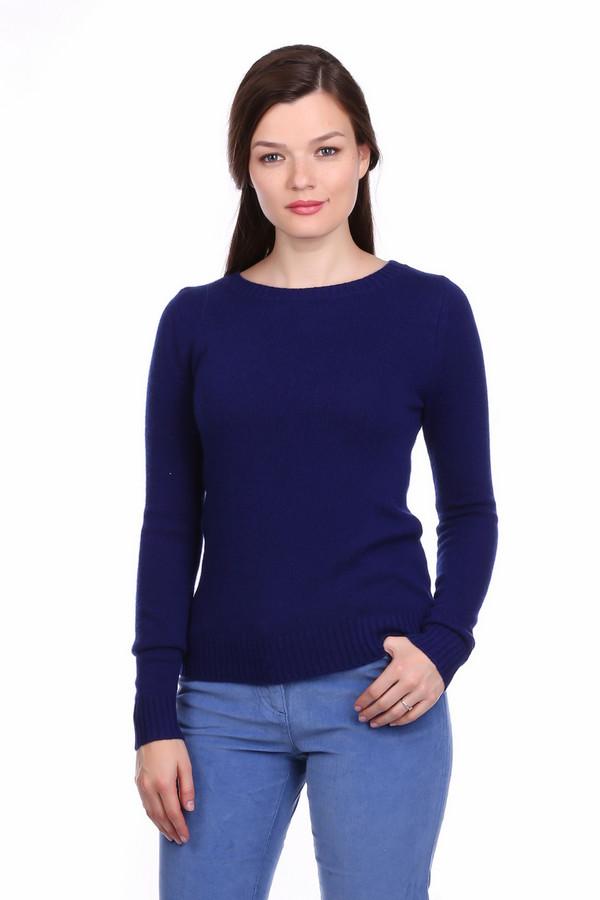 Пуловер Just ValeriПуловеры<br><br><br>Размер RU: 52<br>Пол: Женский<br>Возраст: Взрослый<br>Материал: шерсть 50%, кашемир 50%<br>Цвет: Синий