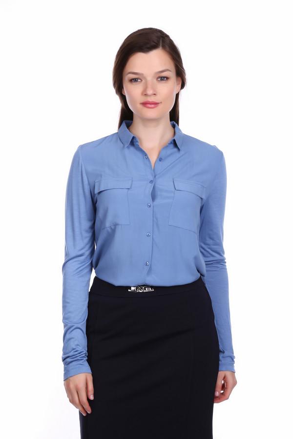 Блузa PezzoБлузы<br>Блузa Pezzo синяя. Эта модель безупречно садится по фигуре, поэтому носить ее вы сможете как навыпуск, так и под пояс юбки или брюк. Все варианты одинаково хороши, ведь дизайнеры об этом особо позаботились. Накладные нагрудные карманы, характерный для блузок воротник и аккуратная застежка на пуговицы подчеркнут вашу женственность и чувство стиля. Блуза из хлопка и вискозы демисезонная.<br><br>Размер RU: 52<br>Пол: Женский<br>Возраст: Взрослый<br>Материал: вискоза 100%, хлопок 100%<br>Цвет: Синий