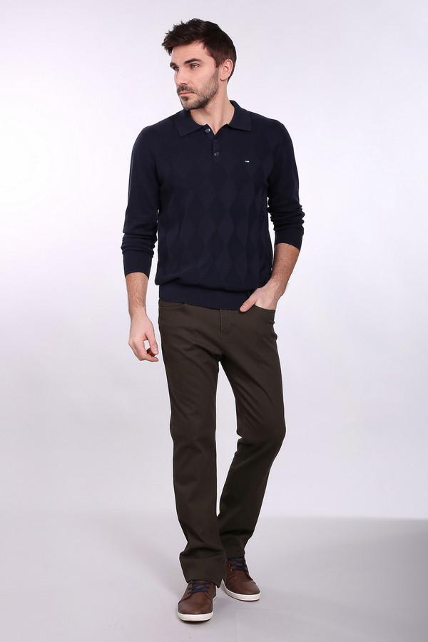 Брюки PezzoБрюки<br>Джинсовые брюки Pezzo цвета хаки. Строгие брюки прямого силуэта – это удобство и комфорт, стиль и простота. Функциональные карманы спереди и сзади очень нравятся мужчинам – эти брюки также ими снабжены. Состав: эластан, хлопок. Отличная модель для работы и отдыха. Демисезонное изделие, которое будет уместным в самых разных ансамблях.<br><br>Размер RU: 54К<br>Пол: Мужской<br>Возраст: Взрослый<br>Материал: хлопок 98%, эластан 2%<br>Цвет: Коричневый