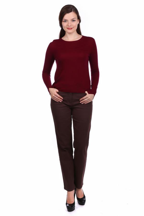 Брюки PezzoБрюки<br>Брюки Pezzo коричневого цвета. Практичные и удобные изделия всегда в моде. Особенно если они так хороши, как предлагаемая модель. Вы можете носить их в самых разных сочетаниях: под жакет, пуловер, блузу или футболку. Состав: эластан, хлопок. Позвольте себе быть очень разной, просто меняя верх.<br><br>Размер RU: 46<br>Пол: Женский<br>Возраст: Взрослый<br>Материал: хлопок 98%, эластан 2%<br>Цвет: Коричневый