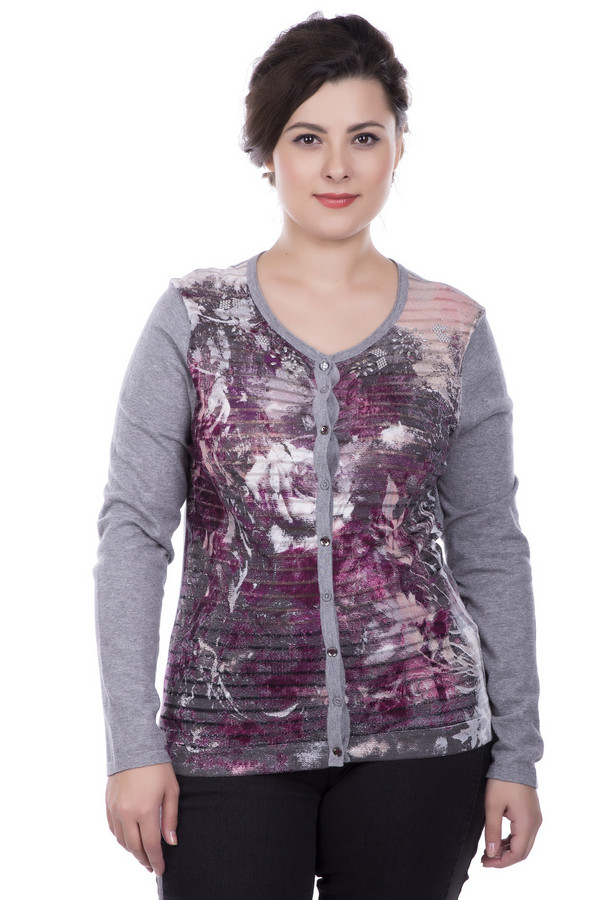 Жакет Betty BarclayЖакеты<br>Жакет Betty Barclay женский разноцветный. Элегантный серый жакет с бело-розовыми и бордовыми цветами на полочке смотрится очень эффектно. Натуральный материал предполагает удобство и комфорт при носке этой вещи. Жакет не только очень практичен, но и красив. Он прекрасно сочетается с узкими тёмными брюками или джинсами. Демисезонная вещь. Состав: 100% хлопок.<br><br>Размер RU: 48<br>Пол: Женский<br>Возраст: Взрослый<br>Материал: хлопок 100%<br>Цвет: Разноцветный