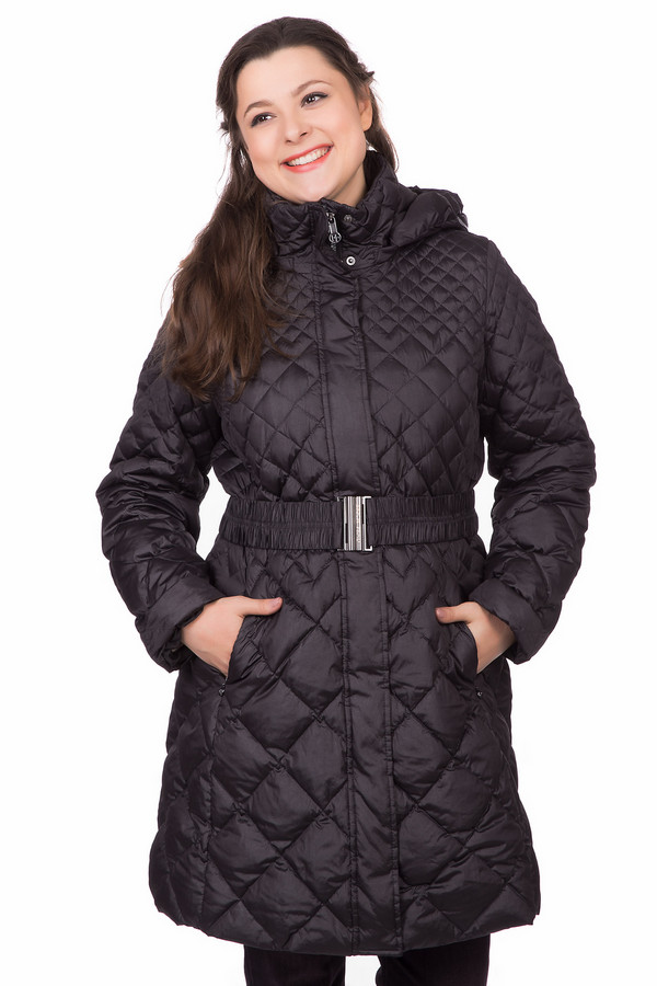 Пальто Erich FendПальто<br><br><br>Размер RU: 48<br>Пол: Женский<br>Возраст: Взрослый<br>Материал: полиэстер 59%, полиамид 41%<br>Цвет: Чёрный