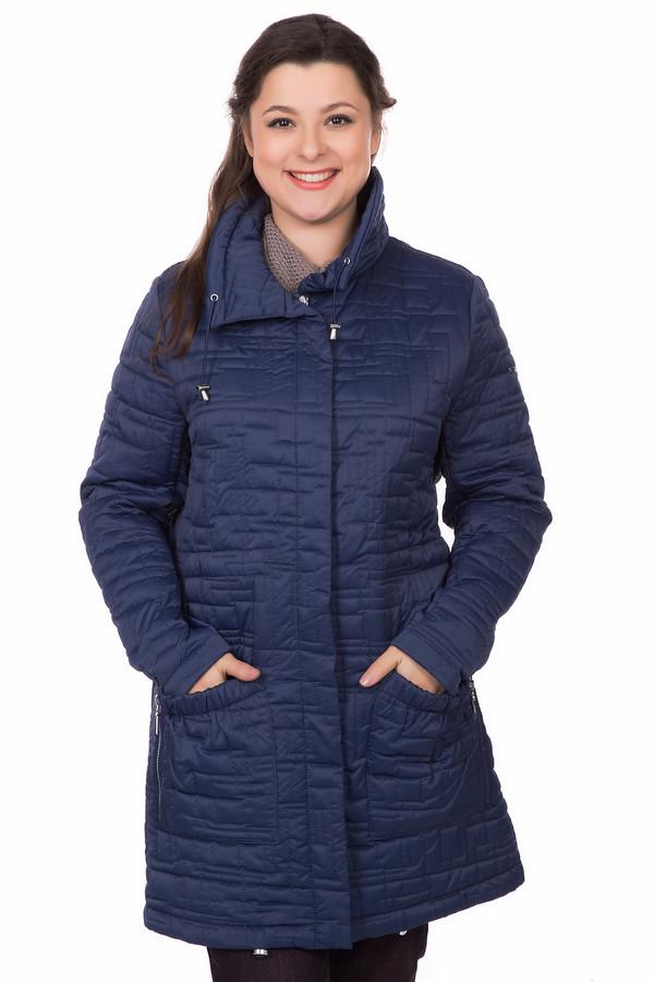 Пальто PezzoПальто<br><br><br>Размер RU: 54<br>Пол: Женский<br>Возраст: Взрослый<br>Материал: полиэстер 100%<br>Цвет: Синий
