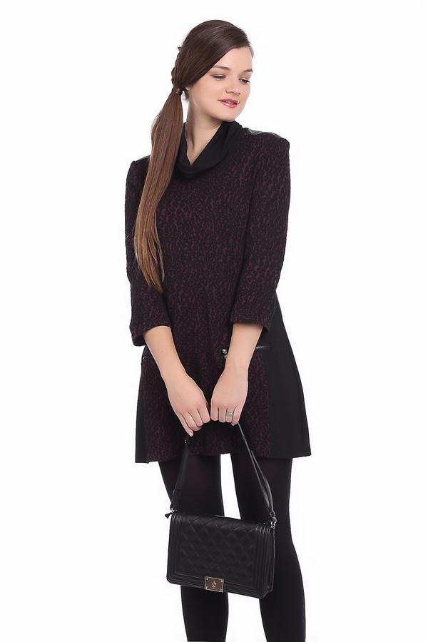 Платье SteilmannПлатья<br><br><br>Размер RU: 44<br>Пол: Женский<br>Возраст: Взрослый<br>Материал: полиакрил 84%, эластан 1%, полиэстер 10%, полиамид 5%<br>Цвет: Чёрный