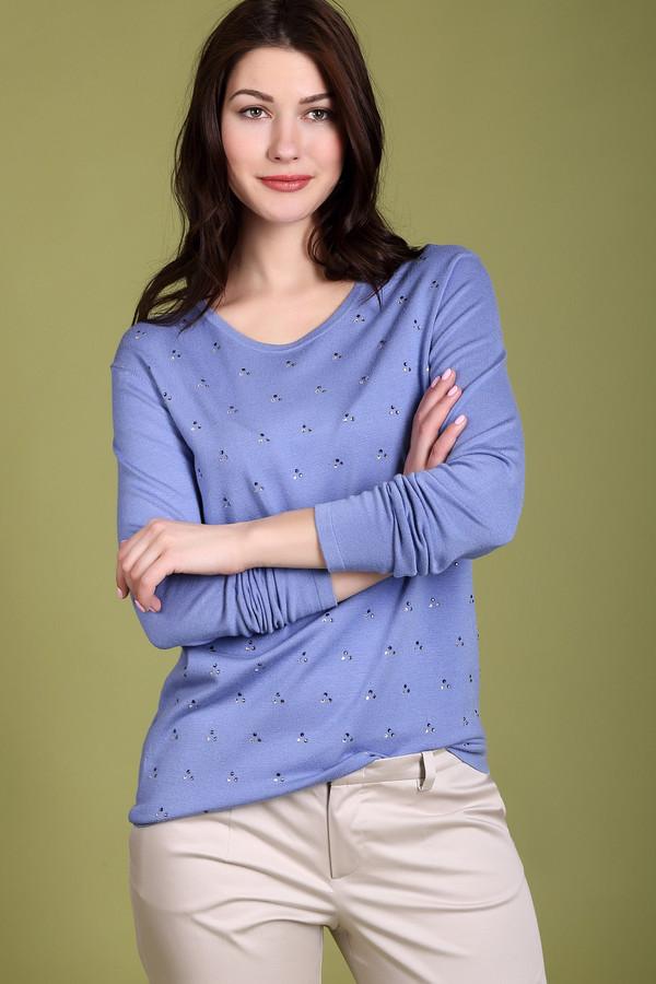 Пуловер PezzoПуловеры<br>Мягкий пуловер от бренда Pezzo сиреневого оттенка. Простая и в то же время очень милая модель этого изделия украшена блестящими стразами разных цветов. Длинный рукав, округлый вырез горловины – ничего лишнего, все здесь продумано до мелочей для вашего удобства и комфорта. Состав: вискоза и полиамид. Демисезонная модель для женщин любого возраста.<br><br>Размер RU: 52<br>Пол: Женский<br>Возраст: Взрослый<br>Материал: полиамид 20%, вискоза 80%<br>Цвет: Сиреневый