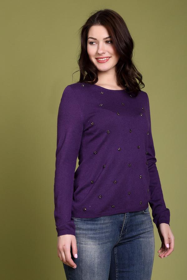 Купить Пуловер Pezzo, Китай, Фиолетовый, полиэстер 30%, нейлон 20%, шерсть 5%, вискоза 40%, ангора 5%