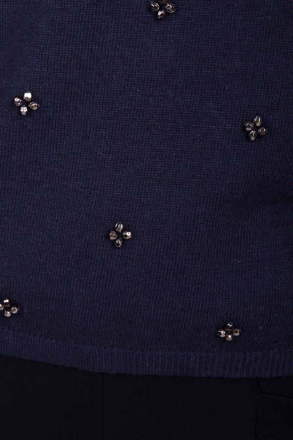 1229611 джемпер жен темно синий доставка