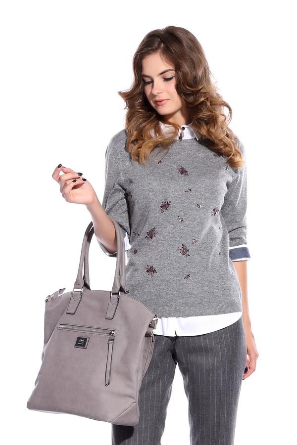 Пуловер PezzoПуловеры<br>Пуловер Pezzo серый. Модель легкая, невесомая и очень женственная, нежная и приятная, как дуновение весеннего ветерка. Необычная асимметричная вышивка спереди изделия и элегантная застежка сзади – из таких деталей состоит целостный образ этой необычайно прекрасной модели. Состав: вискоза, полиэстер, нейлон, шерсть и ангора.<br><br>Размер RU: 50<br>Пол: Женский<br>Возраст: Взрослый<br>Материал: полиэстер 30%, нейлон 20%, шерсть 5%, вискоза 40%, ангора 5%<br>Цвет: Бордовый