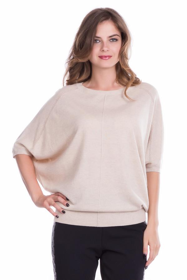 Пуловер PezzoПуловеры<br><br><br>Размер RU: 44<br>Пол: Женский<br>Возраст: Взрослый<br>Материал: полиэстер 30%, нейлон 20%, шерсть 5%, вискоза 40%, ангора 5%<br>Цвет: Бежевый