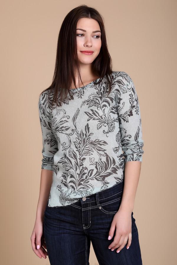 Пуловер Just ValeriПуловеры<br>Пуловер Just Valeri женский светло-голубого оттенка. Лёгкий воздушный пуловер с изысканным рисунком смотрится очень элегантно. Заниженная пройма и длина рукава 3/4 подчёркивают стильность этой модели. Такой пуловер выглядит нарядно, поэтому прекрасно подойдёт и для уикенда, и для деловых переговоров, поэтому непредвиденная встреча никогда не застигнет вас врасплох. Состав: мохер, шерсть, нейлон.<br><br>Размер RU: 42<br>Пол: Женский<br>Возраст: Взрослый<br>Материал: шерсть 20%, нейлон 30%, мохер 50%<br>Цвет: Серый