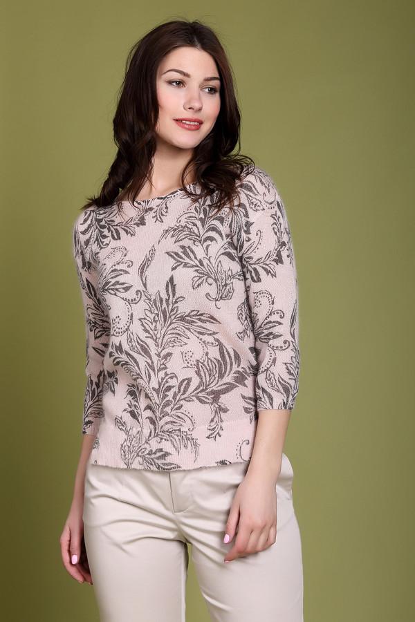 Пуловер Just ValeriПуловеры<br>Пуловер Just Valeri женский светло-розового оттенка. Лёгкий воздушный пуловер с изысканным рисунком смотрится очень элегантно. Заниженная пройма и длина рукава 3/4 подчёркивают стильность этой модели. Такой пуловер выглядит нарядно, поэтому прекрасно подойдёт и для уикенда, и для деловых переговоров, поэтому непредвиденная встреча никогда не застигнет вас врасплох. Состав: мохер, шерсть, нейлон.<br><br>Размер RU: 48<br>Пол: Женский<br>Возраст: Взрослый<br>Материал: шерсть 20%, нейлон 30%, мохер 50%<br>Цвет: Серый