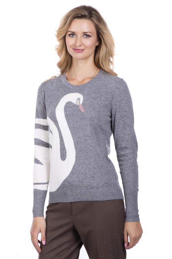 Пуловер PezzoПуловеры<br>Пуловер Pezzo серо -белый . Модель необычная и совершенно восхитительная. Контрастные цвета этой вещи – это ярко, стильно и просто замечательно. Изображение лебедя на рукаве и сбоку модели делает этот пуловер просто мечтой! Вы хотите выглядеть небанально и быть запоминающейся? Тогда пуловер создан для вас. Состав: вискоза, полиэстер, нейлон, шерсть и ангора.<br><br>Размер RU: 46<br>Пол: Женский<br>Возраст: Взрослый<br>Материал: полиэстер 30%, нейлон 20%, шерсть 5%, вискоза 40%, ангора 5%<br>Цвет: Белый