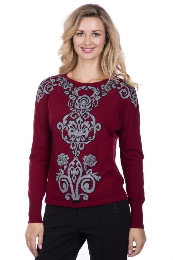 Пуловер PezzoПуловеры<br>Пуловер Pezzo красный. Сочный и яркий оттенок будет к лицу многим женщинам. В таком наряде вы будете чувствовать себя настоящей королевой, ведь такая вещь не может не притягивать к себе изумленные и восхищенные взгляды. Серый фантазийный рисунок с элегантной черной окантовкой придется по душе настоящим модницам. Носить такой пуловер – сплошное удовольствие! Состав: вискоза, полиэстер, нейлон, шерсть и ангора.<br><br>Размер RU: 54<br>Пол: Женский<br>Возраст: Взрослый<br>Материал: полиэстер 30%, нейлон 20%, шерсть 5%, вискоза 40%, ангора 5%<br>Цвет: Разноцветный