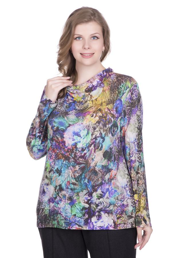 Пуловер LuciaПуловеры<br><br><br>Размер RU: 54<br>Пол: Женский<br>Возраст: Взрослый<br>Материал: эластан 3%, вискоза 83%, полиакрил 14%<br>Цвет: Разноцветный