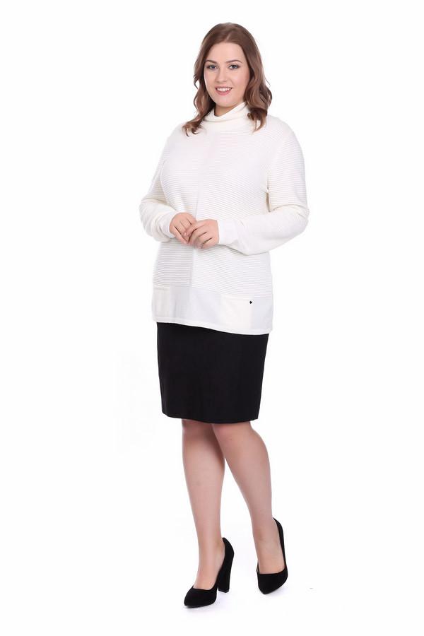 Пуловер LuciaПуловеры<br><br><br>Размер RU: 50<br>Пол: Женский<br>Возраст: Взрослый<br>Материал: полиамид 20%, полиакрил 38%, модал 42%<br>Цвет: Белый