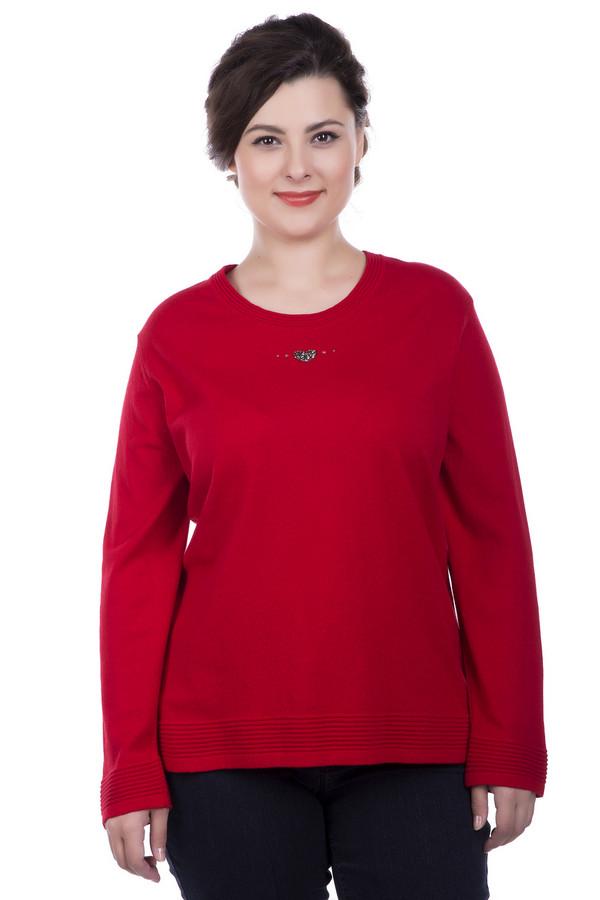 Пуловер LuciaПуловеры<br><br><br>Размер RU: 54<br>Пол: Женский<br>Возраст: Взрослый<br>Материал: полиамид 20%, полиакрил 38%, модал 42%<br>Цвет: Красный