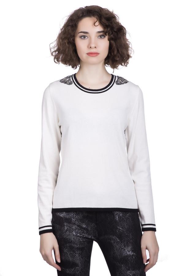Пуловер LuciaПуловеры<br><br><br>Размер RU: 52<br>Пол: Женский<br>Возраст: Взрослый<br>Материал: полиамид 20%, полиакрил 38%, модал 42%<br>Цвет: Чёрный