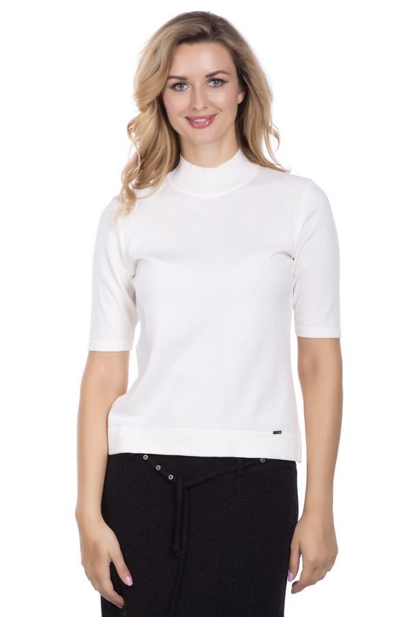 Пуловер LuciaПуловеры<br><br><br>Размер RU: 56<br>Пол: Женский<br>Возраст: Взрослый<br>Материал: полиамид 20%, полиакрил 39%, модал 42%<br>Цвет: Белый