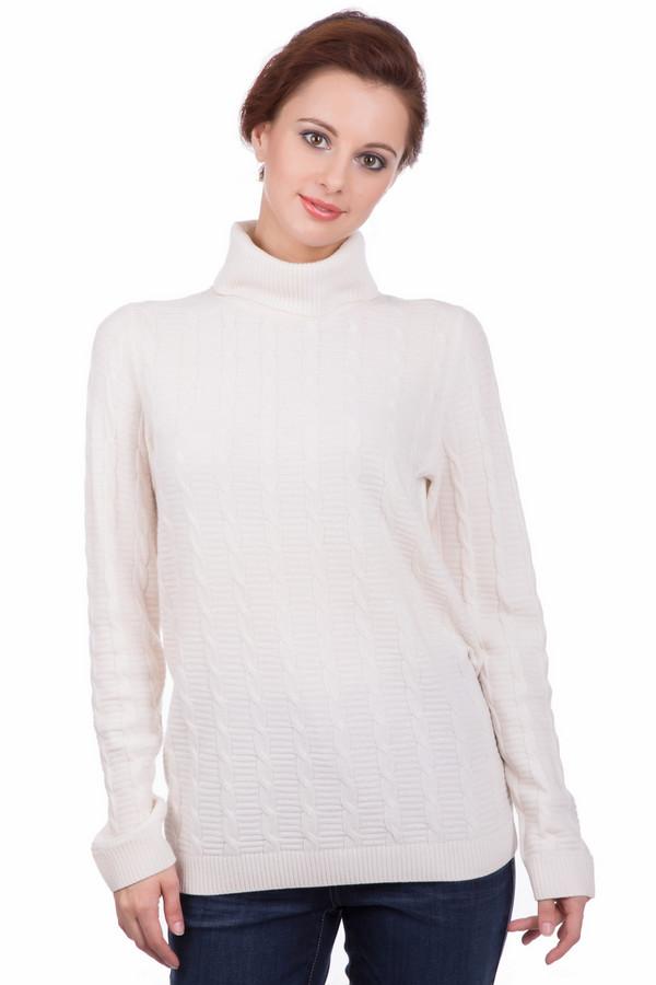 Пуловер Gerry WeberПуловеры<br><br><br>Размер RU: 42<br>Пол: Женский<br>Возраст: Взрослый<br>Материал: шерсть 70%, полиамид 30%<br>Цвет: Белый