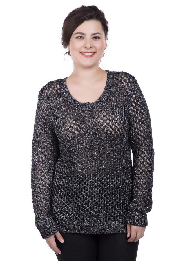 Пуловер Betty BarclayПуловеры<br>Пуловер Betty Barclay серо-серебристый. Эффектный пуловер серо-серебристого цвета с красивым ажурным рисунком подчеркнёт вашу сексапильность и женственность. Модель с круглым вырезом горловины, длинным рукавом с манжетой, отделанной резинкой, выглядит очень красиво. Такой пуловер отлично комбинируется с узкими тёмными брюками и обувью на высоком каблуке. Состав: полиэстер, полиакрил, шерсть.<br><br>Размер RU: 48<br>Пол: Женский<br>Возраст: Взрослый<br>Материал: полиэстер 66%, шерсть 10%, полиакрил 24%<br>Цвет: Серебристый